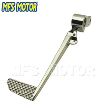 Motorcycle Accessories pedal lever For Yamaha R1 2007 2008 YZF-R1 YZF1000 2007 2008 Silver