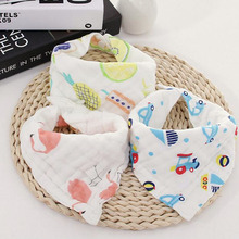 Wholesale Pet Fashion Saliva Towels Dogs Soft Thicken Cotton Bibs
