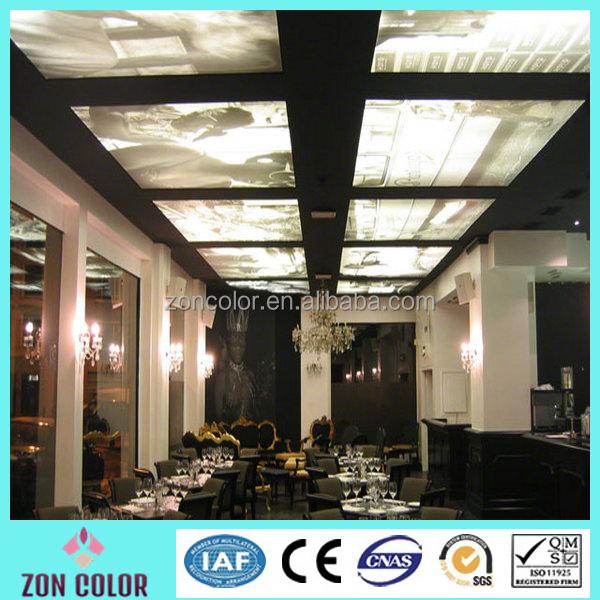 alibaba al por mayor de techo de pvc tejido elstico techo de tela para la decoracin