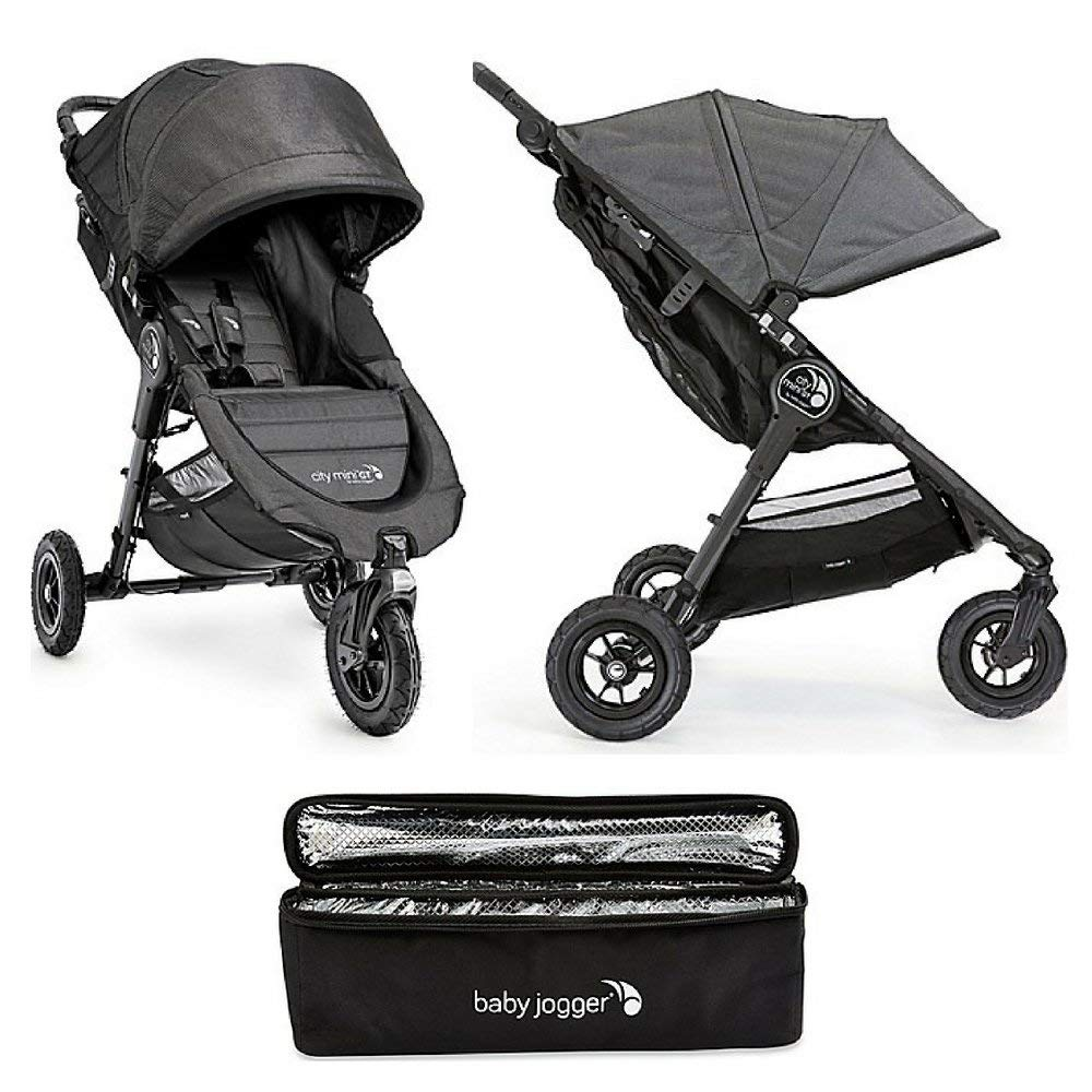 Get Quotations Baby Jogger City Mini Gt Single Stroller In Charcoal Cooler Bag