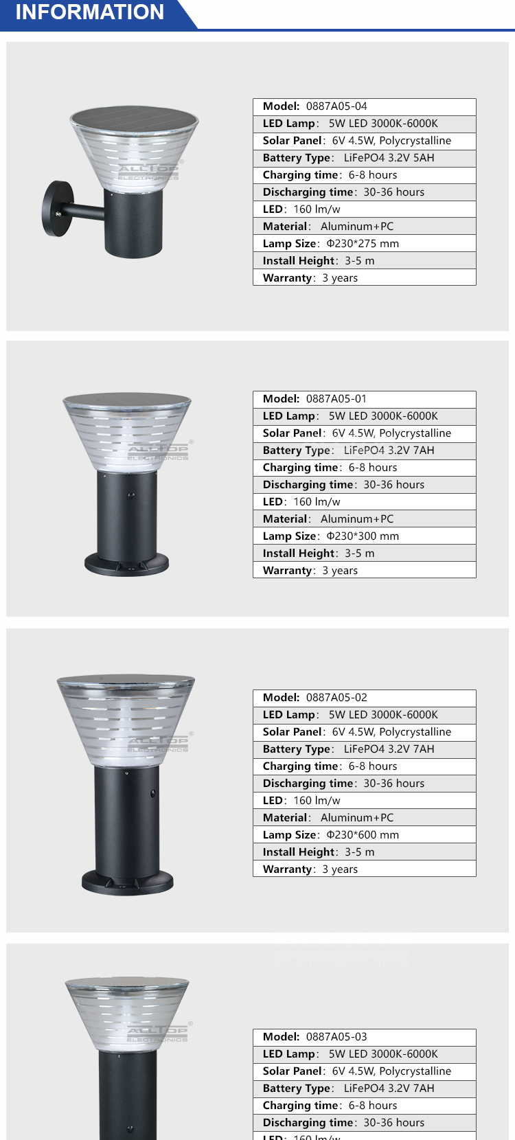 wholesale solar garden light-7