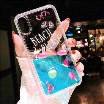 new concept 59b17 cbf22 Best Selling Liquid Phone Case With Floating Flamingos For Iphone 8 Back  Cover Case Pattern Priting For Samsung Note 9 - Buy For Samsung Note 9,For  ...