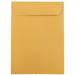 Open End Envelopes - Brown Kraft - 25/pack 5 1/2 x 7 1/2