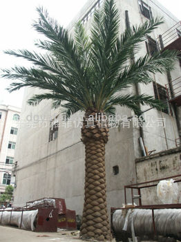 Hot Artificial Palm Tree Imitation Project Succulent Plants
