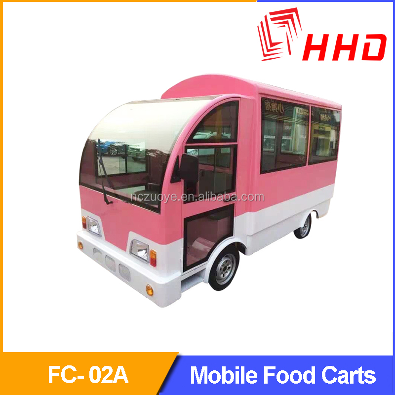 Mobile Kitchen Fast Food Cart/ Bbq Trailer With Sliding Glass Window