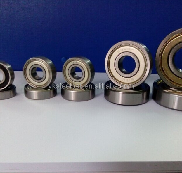 RS/Z/ZZ series Skateboard Deep Groove 608 zz bearing from China factory with 26 years experience