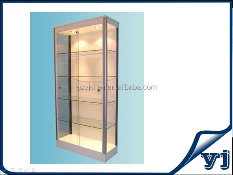 Living Room Glass Showcase Designs/Boutique Glass Showcase Design