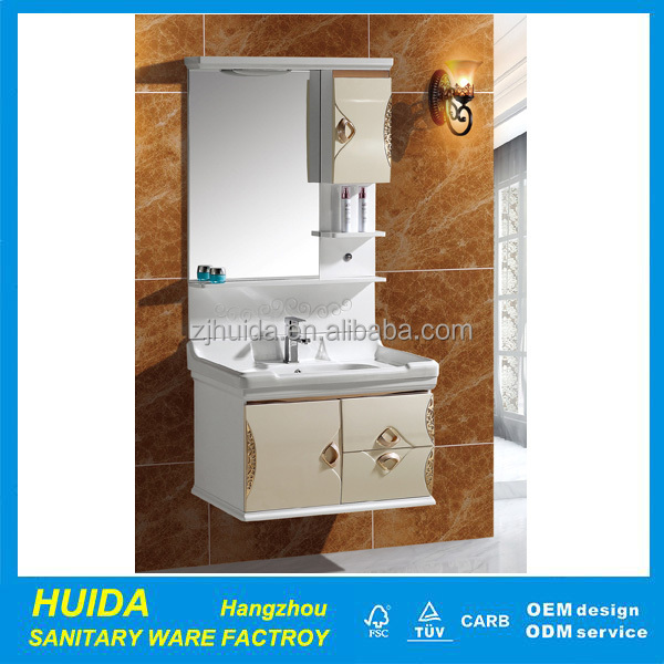 Dubai Hot Sale Used Furniture Cabinet Basins With Mirror Living Room Furniture Bath Cabinet Sink