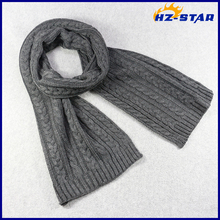 HZW-16010005 hot selling cashmere warm winter eternity scarf men