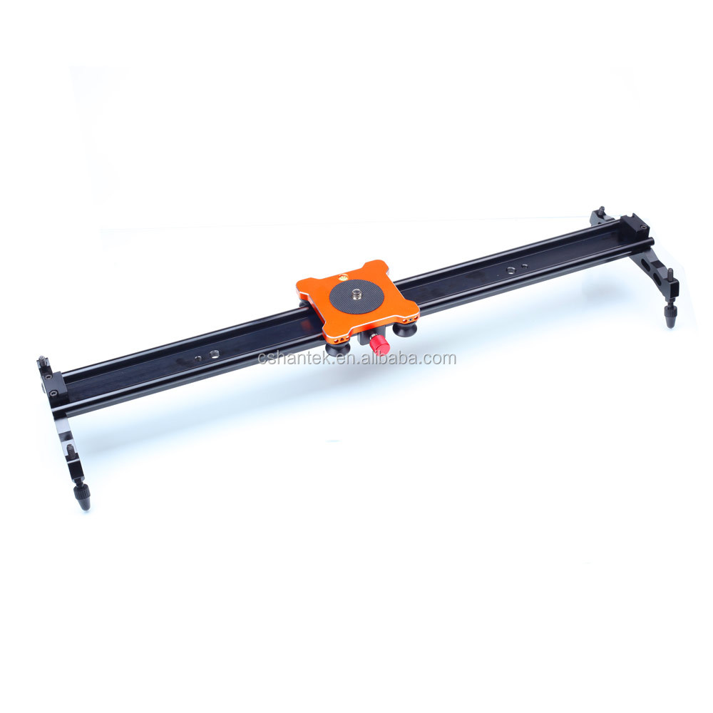 100CM 100% Aluminum Alloy Bearing Wheel Sliding-pad Video Track Slider Dolly Slider for DSLR, Camcorders