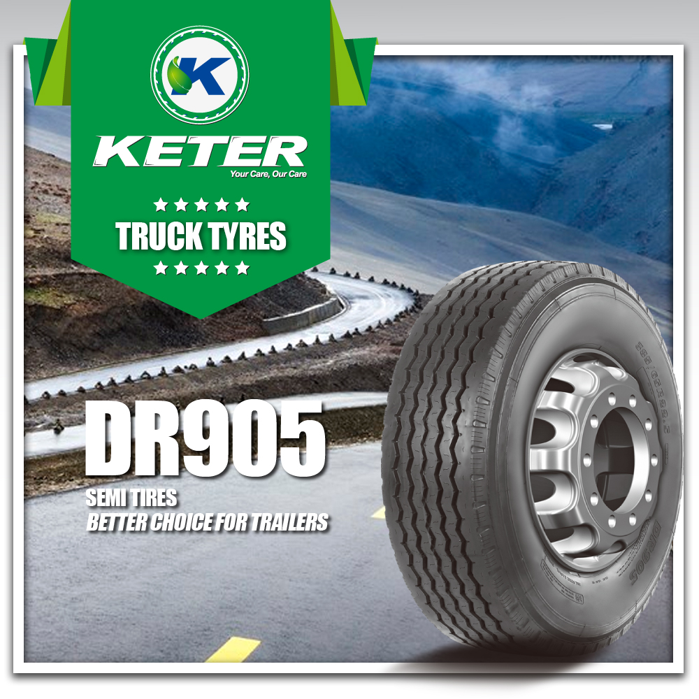 Keter Intertrac Good Price & Quick Delivery Truck Tires for trailers 385/65R22.5