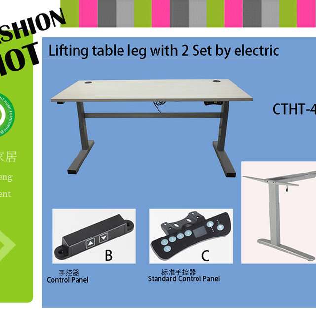 Furniture For Large People White Office Desk Height Adjustable Table  Electric   Furniture For Large People Part 62