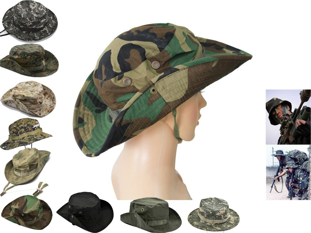 EMERSON Boonie Hat Military Hat Tactical Army Hat Anti-scrape Grid Fabric  camouflage hat Kryptek Mandrake EM8737 56cc6cd657aa
