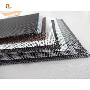 14mesh black anti-theft security stainless steel wire mesh for window & door screen