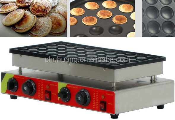 Single Plate 50pcs mini Poffertjes Grill/Waffle maker
