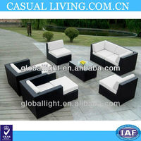 Outdoor Patio Wicker Furniture 9pc Deep Seating Set