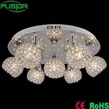 Crystal Ceiling Lighting Crystal Lamp Shades For Home Decoration D ...