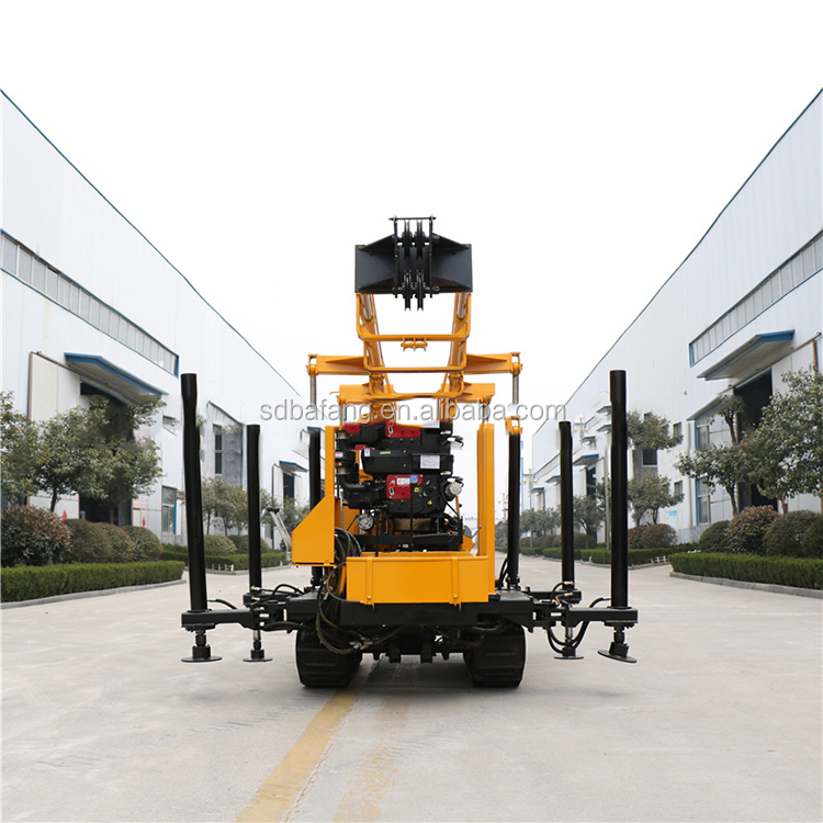 Xyd-200 chain rail water well drilling rig