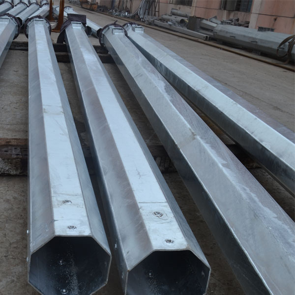 10 Kv Steel Pipe Power Transmission Pole of Tension Tower