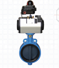 Pneumatic Pusat-Line <span class=keywords><strong>Wafer</strong></span> Butterfly Valve