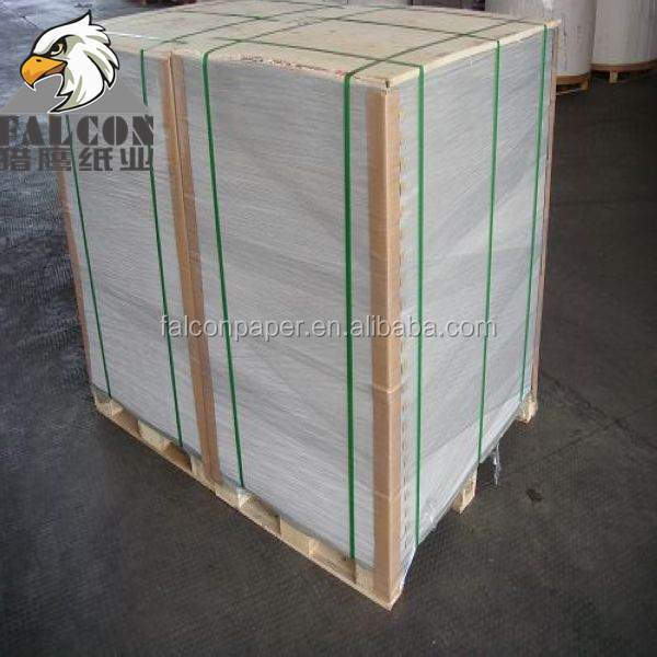 400gsm Grade A Grey Back Waste Paper Coated Duplex Board