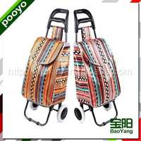 foldable trolley luggage for promotion advertising paper bag