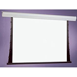 "Silhouette Series V White Electric Projection Screen Viewing Area: 50"" H x 50"" W"