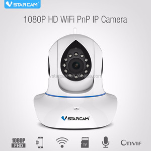 HD wifi network cameras 2mp ONVIF pnp CMOS pan tilt 1080p cctv camera housing