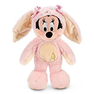 Disney MINNIE MOUSE EASTER BUNNY - Plush Easter Honey Bunny - 12''