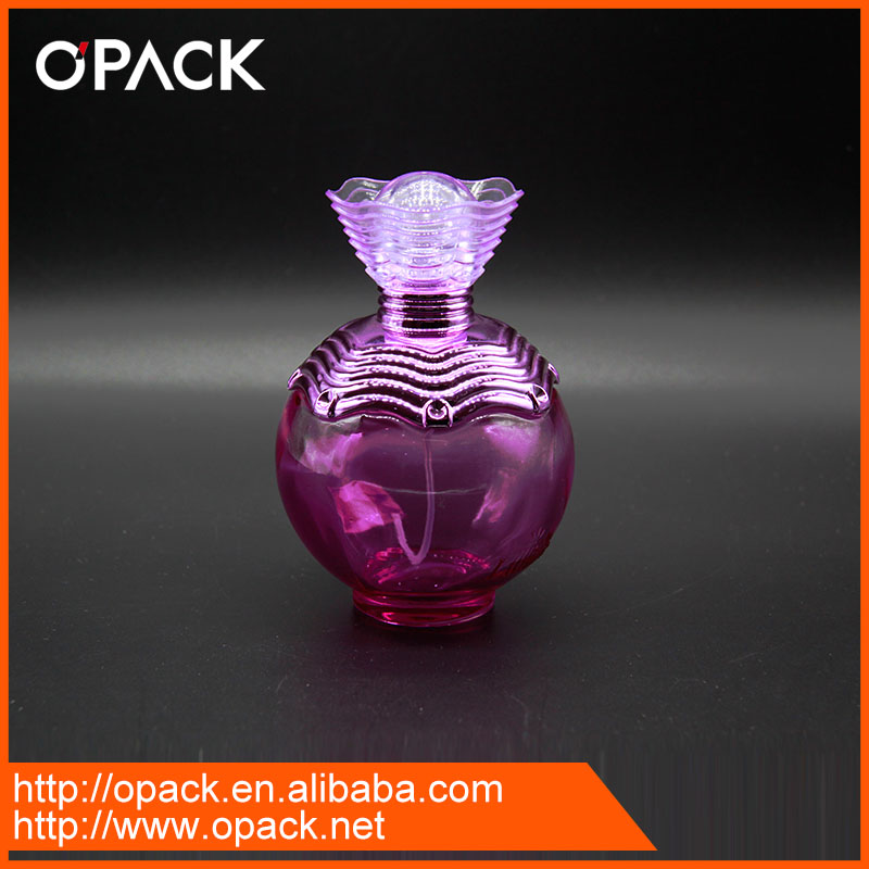 Dark pink old fashioned perfume bottle for sale