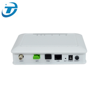 FTTH GEPON ONU Modem Fiber Optic Transport Network 4FE/4GE+CATV+WIFI EPON ONU