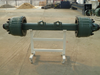 wagon wheels and kart 3 axle flatbed semi trailers for sale