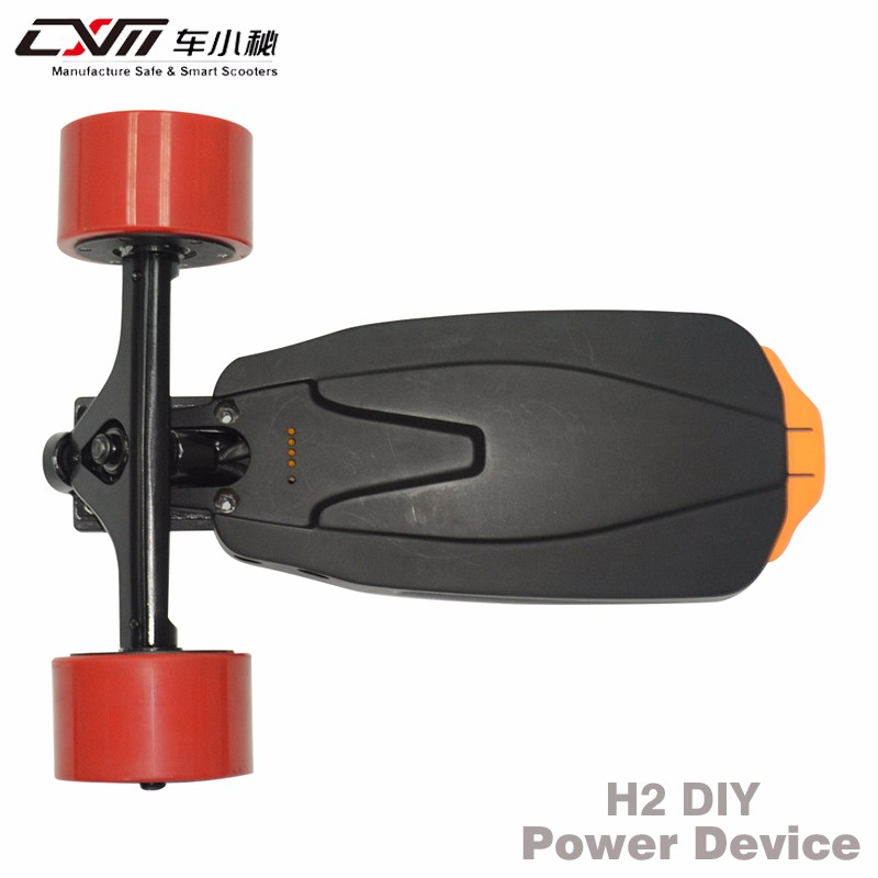 China factory electric skateboard boosted longboard DIY motor kit with detachable battery