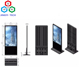 55inch Indoor Floor Standing Advertising Player Kiosk with 4K Screen Android OS Quad Core Rk3288 2.0g