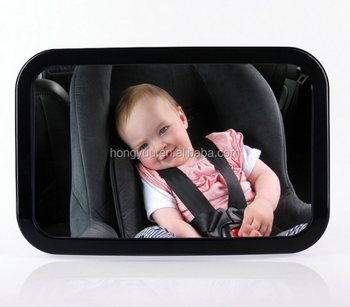 Back Seat Baby Car Mirror ABS Acrylic Material Best Rear Facing For Tiny