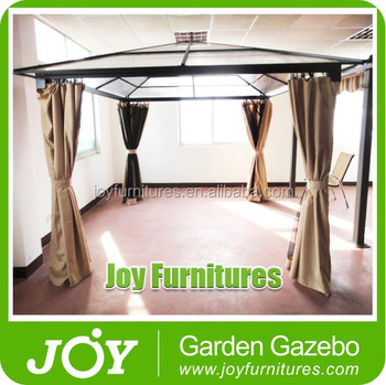 Clear Plastic Roof PC Board Gazebo