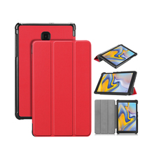 Custodia in pelle Smart Cover Per Samsung Galaxy Tab 8.0 pollice T387 <span class=keywords><strong>Tablet</strong></span> <span class=keywords><strong>Caso</strong></span> 2018