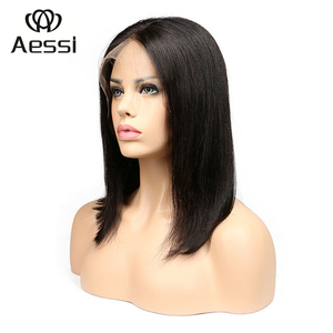 AESSI brand used human hair party micro braided lace front wigs for sale