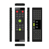 Factory Wholesale TZ16 Voice 3 in 1 Design Remote Control+Keyboard+Mouse 42 Infrared Learning Keys 2.4G RF Wireless