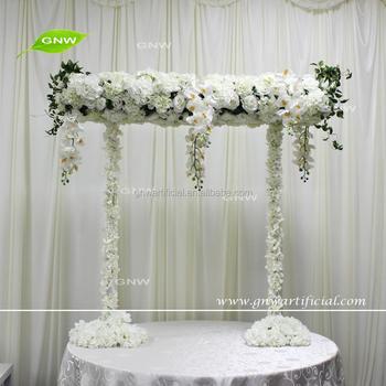 Gnw Ctrc1707002 2 Indian Wedding Artificial White Flower Entrance For Table Arrangement Buy Flower Entrance Wedding Entrance Indian Wedding Entrance