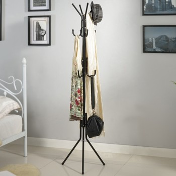 Modern Smart Black Office Furniture Coat Rack For Clothes And Hat Inspiration Office Coat Racks