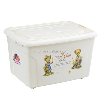 High Quality Plastic Storage Box For Clothes Medium Size Buy