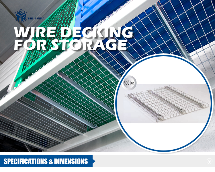 Industrial Wire Mesh Deck Panels For Pallet Racking System - Buy ...