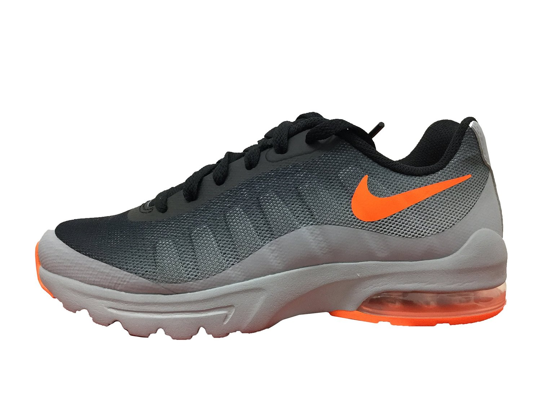 buy popular 26361 aafd3 Get Quotations · Nike Air Max Invigor Wolf Grey Total Orange-Black (Big Kid)