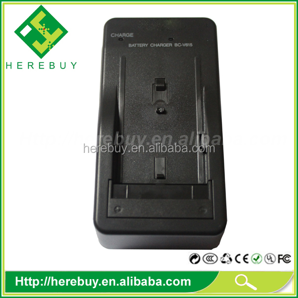 Manufacturer Battery charger for Sony BC-V615 BCV615 battery charger NP-F550/NP-F750/NP-F960/NP-F570/NP-F770/ NP-F970