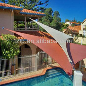 Hdpe Virgin Plastic Triangle Swimming Pool Sun Shade Sail - Buy Sun Shade  Sail,Triangle Shade Sail,Swimming Pool Sun Sail Product on Alibaba.com
