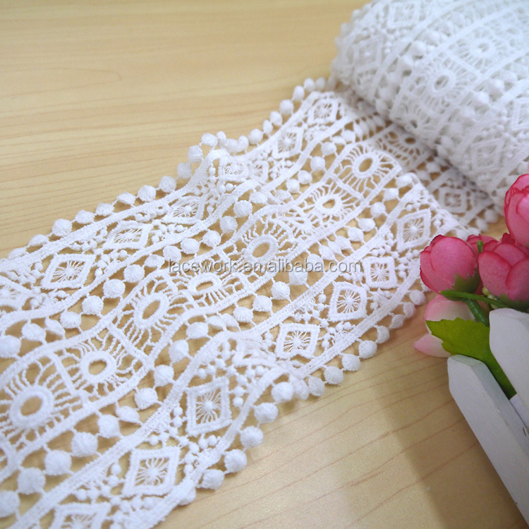 Wholesale Hot Style 3d Embroidery Rose Chiffon Flower Lace Trim ...