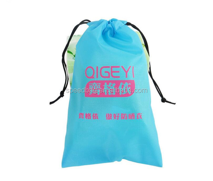 Good quality recycled polyester dress dust bag