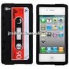 Prefessional silicone tape mobile phone skin for iphone 4