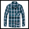 Classic pattern big check loong sleeve latest casual shirts designs for men2016